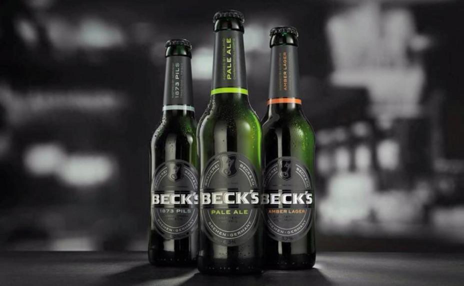 Becks 1873 Pils, Pale Ale und Amber Lager