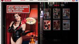 Astra Bier Girl Detection Billboard